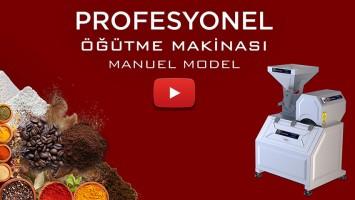 PUDRA ŞEKERİ ÖĞÜTME MAKİNASI M180 MANUEL
