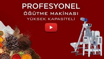PUDRA ŞEKERİ DEĞİRMENİ P-MAX YÜKSEK KAPASİTELİ