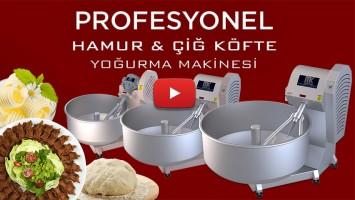 PROFESYONEL HAMUR & ÇİĞ KÖFTE YOĞURMA MAKİNESİ