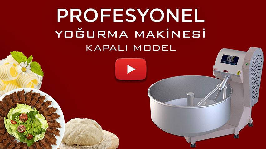 Profesyonel Çiğ Köfte Yoğurma Makinesi Video görseli.