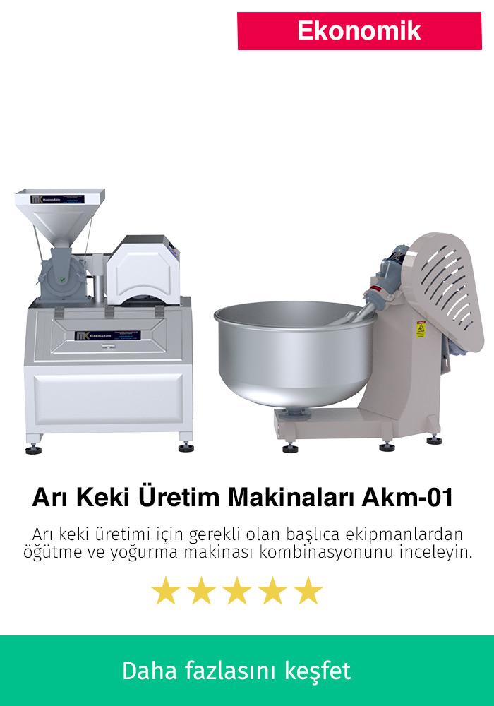 Arı Keki Üretim Makinaları AKM-01
