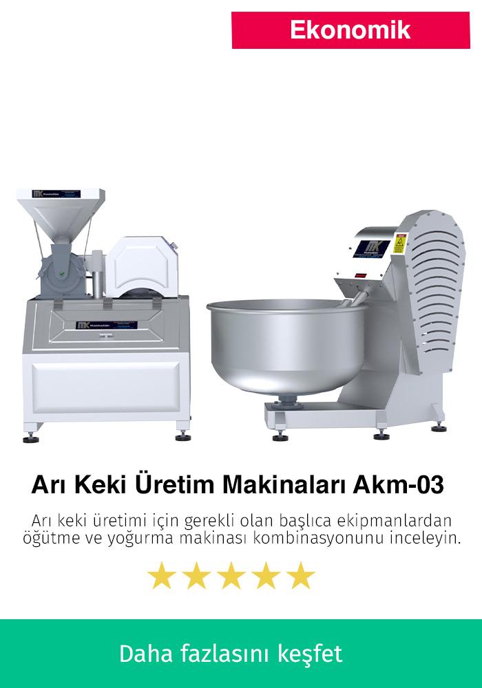 Arı Keki Üretim Makinaları AKM-03