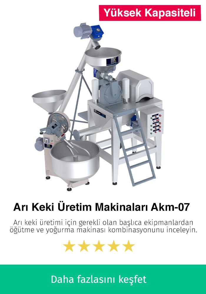 Arı Keki Üretim Makinaları AKM-07