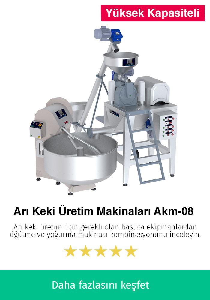 Arı Keki Üretim Makinaları AKM-08