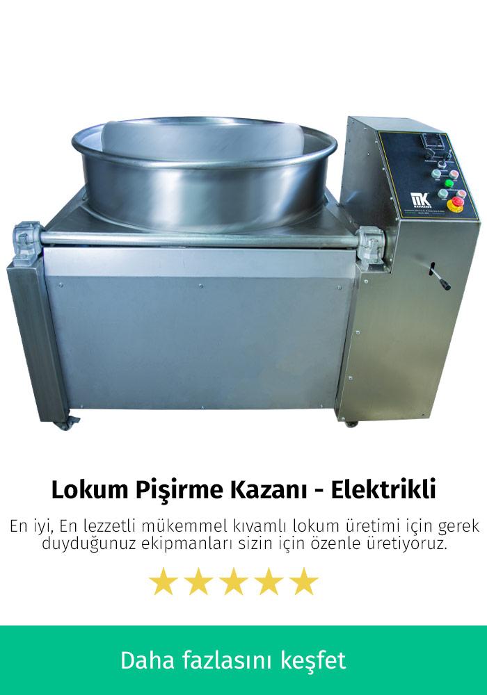 Lokum Pişirme Kazanı